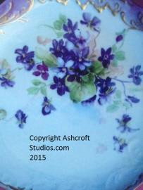 Antique Single Violets