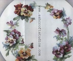 Fancy Pansies & Forget Me Nots