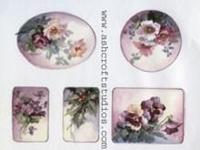 Jewelry Box Top (Flowers)