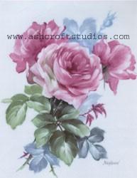 Heirloom Roses (Pink)