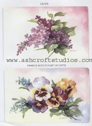 Lilacs, Pansies & Forget Me Nots