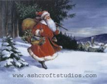 Black Forest Santa