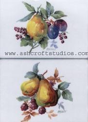 Meissen Style Fruit